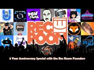 The VR Chat Show - Rec Room 5th Anniversary Special - The Past, the Present, and Future of Rec Room