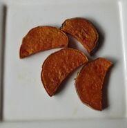 Zoete aardappel gefrituurd