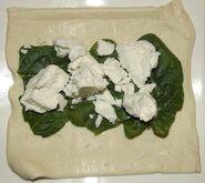 Borek met spinazie en feta