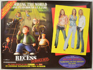 Recess School's Out UK poster