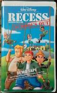 Recess School's Out demo tape