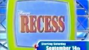 Disney's ABC Kids Disney's Recess promos in chronological order (September 2002 to 2004)