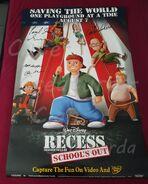 My Recess Poster Sylviparda