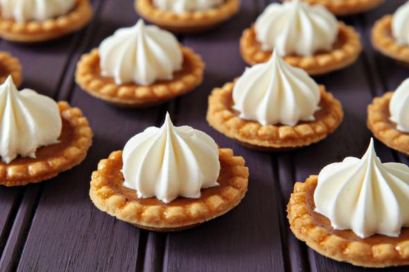 Baked Miniature Pumpkin Pies