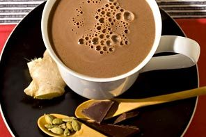 Ginger Spiced Hot Chocolate