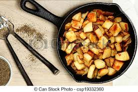 Skillet-fried Ranch Potatoes