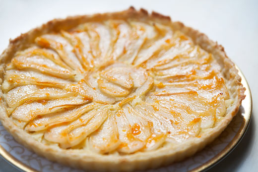 Apple-Pear Tart with Cornmeal Crust