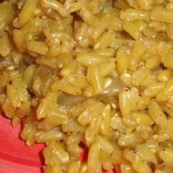 Brown Rice Curry