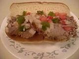 Beef Round Eye Sandwiches