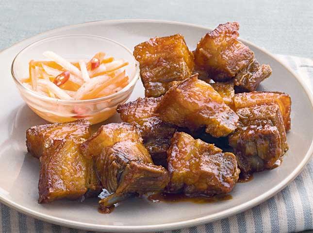 Chili-Honey Glazed Lechon Kawali