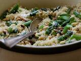 Tabasco and Asparagus Quinoa