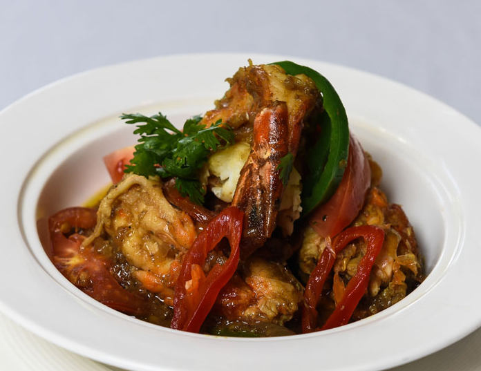 Prawn Curry - Succulent prawns with a Thai twist
