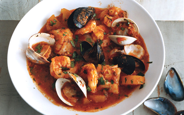 Low-fat Seafood Stew