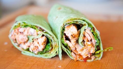 How to Make the Grilled Salmon Wraps
