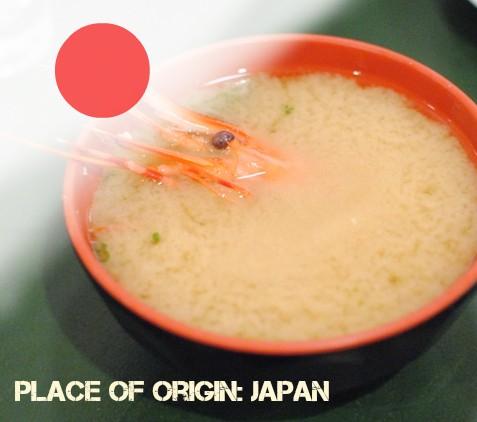 Shrimp Miso