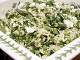 Orzo and Peas Herb Salad
