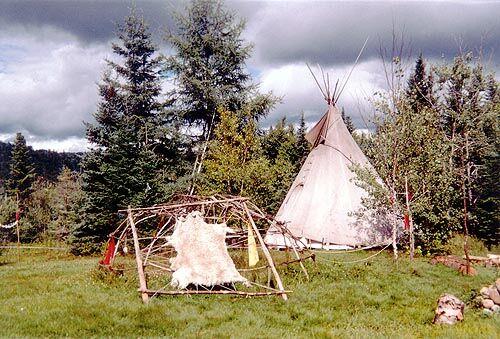 Native American Tent