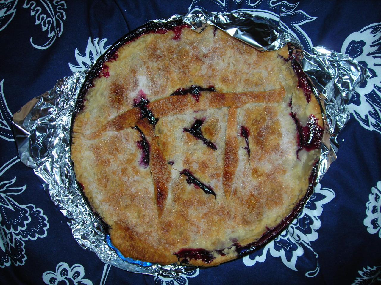 New England Blueberry Pie