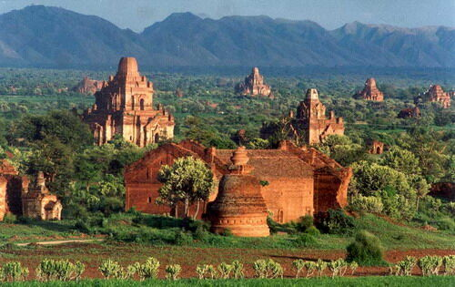 Burma (Myanmar) scenery of Old Bagan