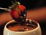 Chocolate Cheese Fondue