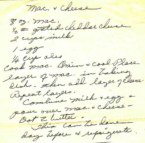 Mrs. Truman's Mac and Cheese