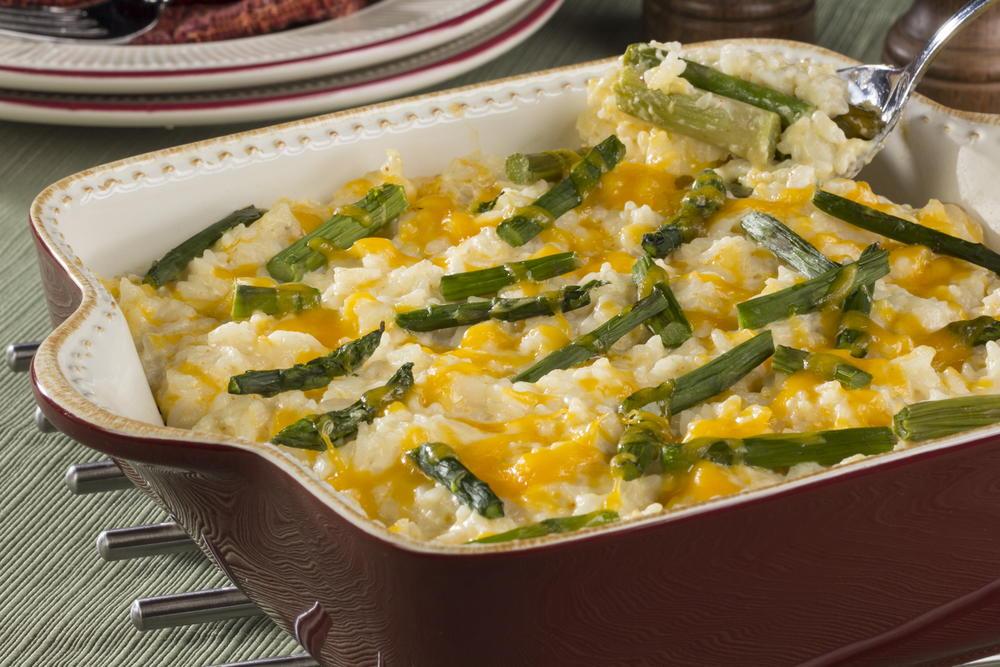 Asparagus-Rice Casserole