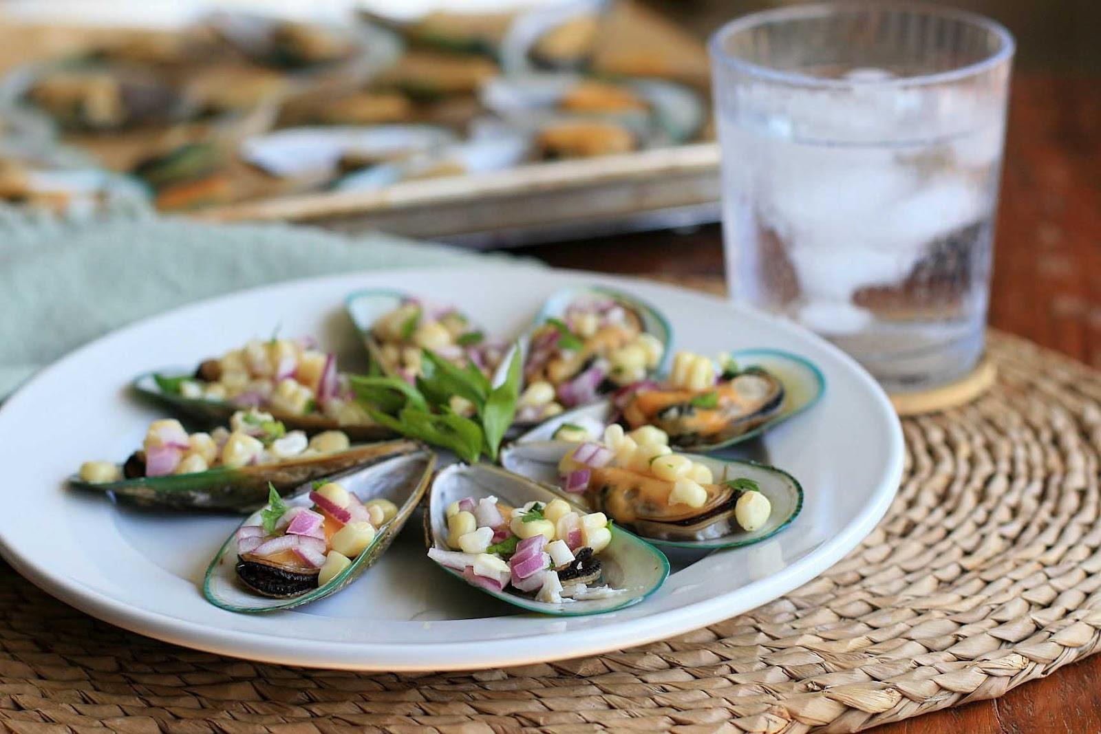 Peruvian-style Mussels
