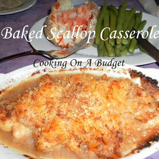 Scallop Casserole