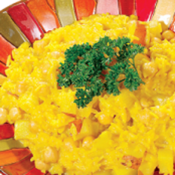 Yellow Rice with Chickpeas