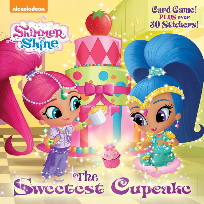 Shimmer and Shine Cupcakes
