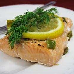 Garlic-Dill Salmon