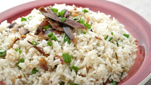 Tuyo Fried Rice
