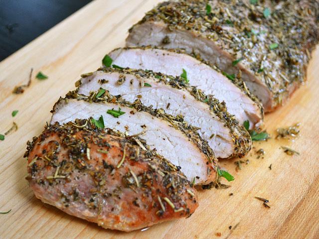 Herb-Roasted Pork Tenderloin