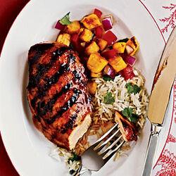 Hawaiian Hot and Spicy Chicken