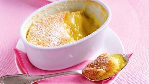 How to Make the Baked Lemon Pudding