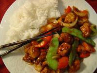 Hawaiian Pork Stir-fry
