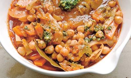 Chickpea, Tomato and Bread Soup