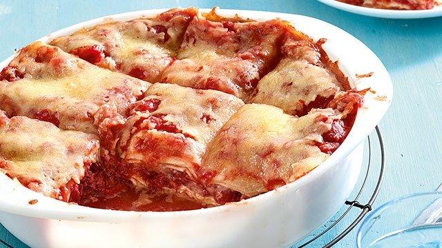 Corned Beef Lasagna