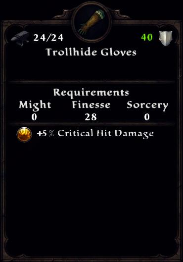 Trollhide Gloves