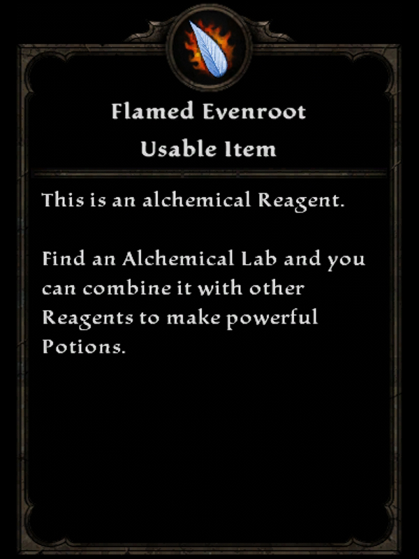 Flamed Evenroot