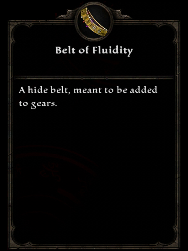 Belt of Fluidity