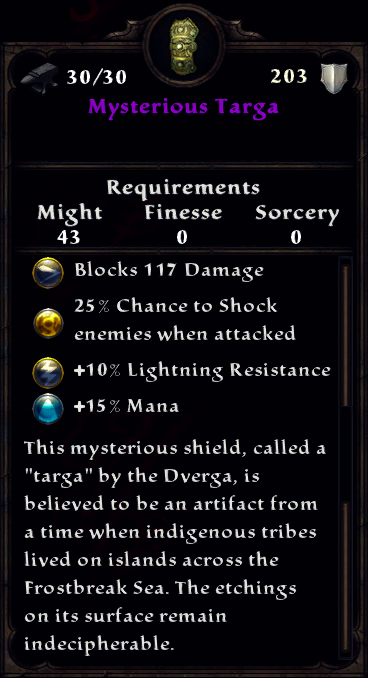 Mysterious Targa