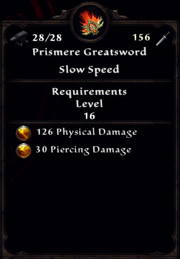 Prismere Greatsword