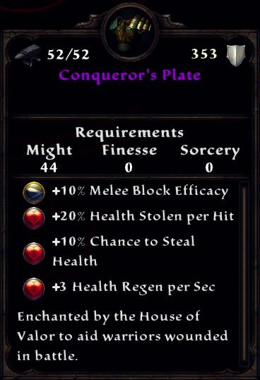 Conqueror's Plate