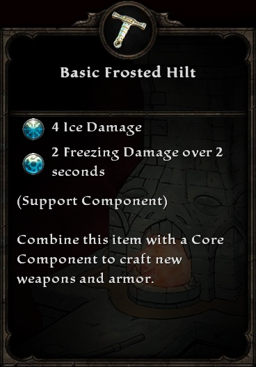 Basic Frosted Hilt