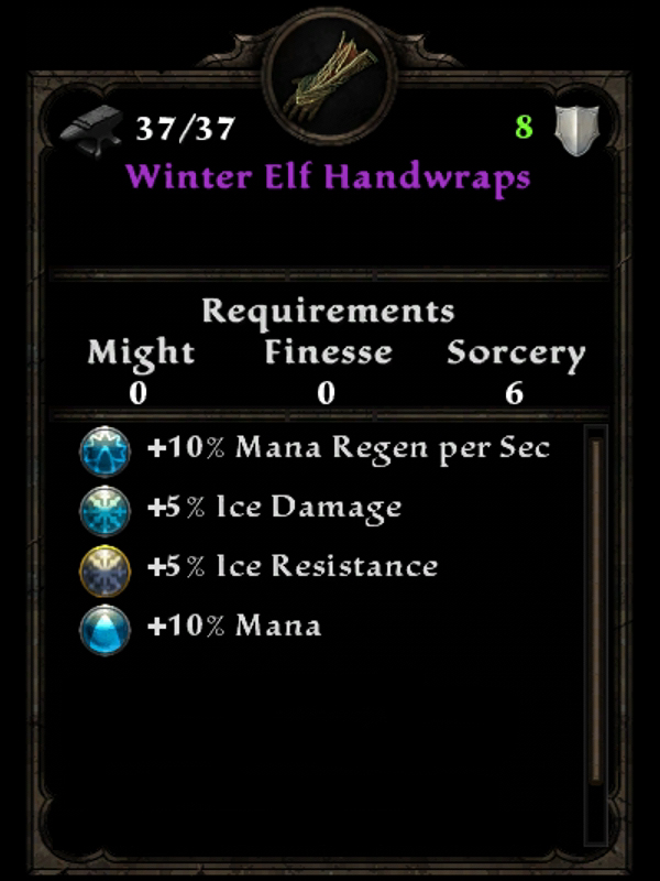 Winter Elf Handwraps