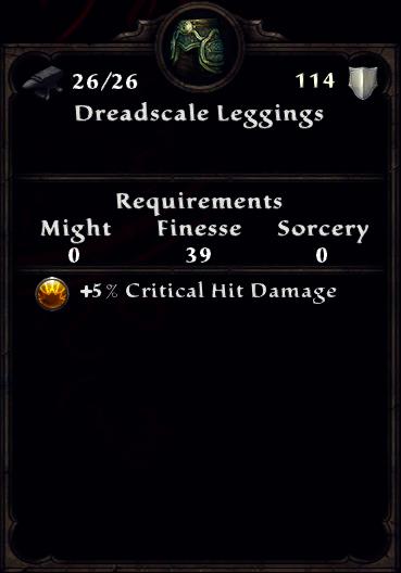 Dreadscale Leggings