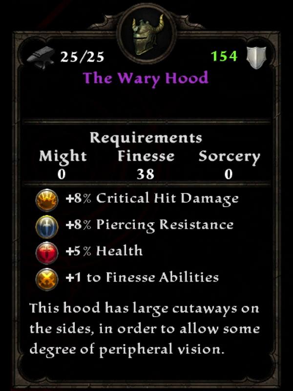The Wary Hood
