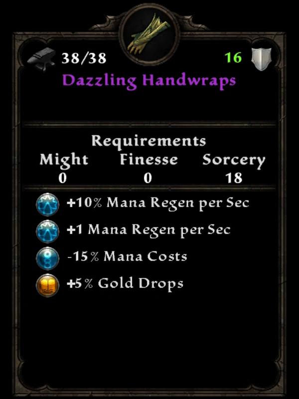 Dazzling Handwraps