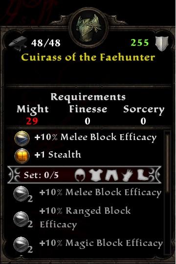 Cuirass of the Faehunter